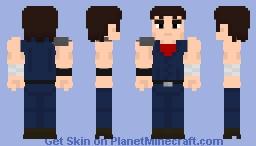 Kenshiro (Fist of the north star) Minecraft Skin