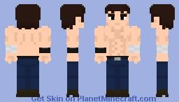 Shirtless Kenshiro (Fist of the north star) Minecraft Skin