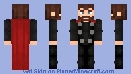Thor Infinity War (After Getting Stormbreaker) Minecraft Skin