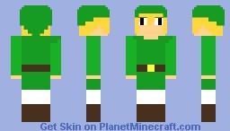 Lonk The Hero Of Thyme - (alex model...) Minecraft Skin
