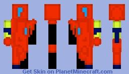 Plastic Water Gun Minecraft Skin