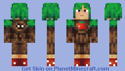 """Tree Man"" [Title Theft! (Skin Event)] Minecraft Skin"