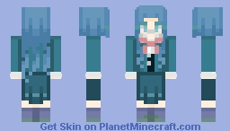 """""""Even if it's just fiction, I gave my life to make it."""" Minecraft Skin"""
