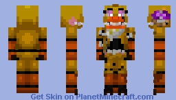 TTO | Twisted Chica Minecraft Skin