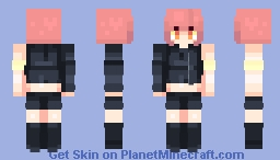 ``You let an 8-Ball drop´´ Minecraft Skin