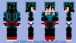 █▓▒Izuku Midoriya.DM.hero.A ══╣═════════════════════════⇌ Minecraft Skin