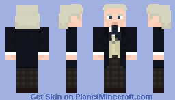 The First Doctor-Gray trousers (no coat) Minecraft Skin