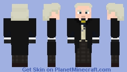 The First Doctor-Gray trousers (with coat) Minecraft Skin