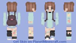 ✿ ʟᴜᴋᴀ ✿ Minecraft Skin