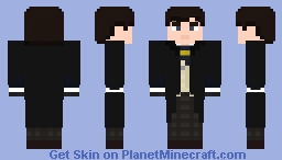 The second Doctor-Post regeneration Minecraft Skin
