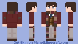 """The Fourth Dotor-in """"Planet of Evil"""" Minecraft Skin"""