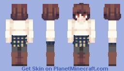 I KINDA STOLE TEGAN'S SHADING UHHHH Minecraft Skin