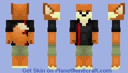 Finnick (Zootopia) Minecraft Skin