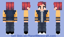 Archie Andrews | Riverdale | Request Minecraft Skin