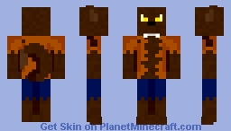 Yep, it's a werewolf alright Minecraft Skin