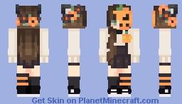 ♡ My Halloween skin ♡ Minecraft Skin