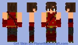 Fortnite: Crimson Scout Minecraft Skin