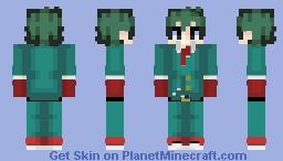 Izuku Midoriya Formal Smash Tap Minecraft Skin