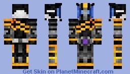 Kamen Rider Dark Decade 仮面ライダーダークディケイド Minecraft Skin