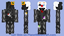 Ennard: Fnaf Sister Location Minecraft Skin