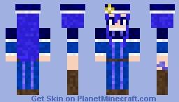 Jubia Lockser [Fairy Tail] Minecraft Skin