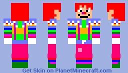 Rainbow Laughing Jack Minecraft Skin
