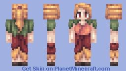 Dry Petals Minecraft Skin