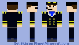 Male Pilot Minecraft Skin