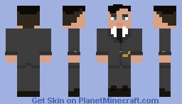 Peaky Blinders - Thomas Shelby Minecraft Skin