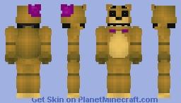 Fredbear ucn Minecraft Skin