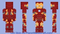 Iron Man Mk 50 [Infinity War] Minecraft Skin