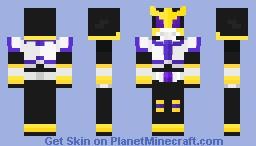 Kamen Rider Kuuga Titan Form Minecraft Skin