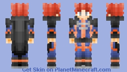 Lance the Dragon Pokemon Champion Minecraft Skin