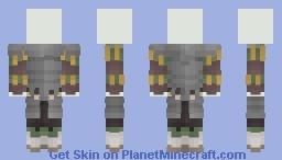 [LotC] Levyman's Armour Minecraft Skin