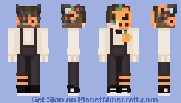 ♡ Male twin of my Halloween skin ♡ Minecraft Skin