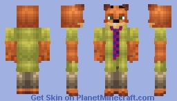 NickWilde Minecraft Skin
