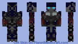 Optimus Prime (Evasion) Minecraft Skin