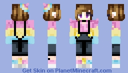 I'm In Me Mum's Caar- (Pan Pride Child) ❰⌘❱ Minecraft Skin