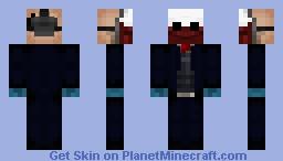 PAYDAY Wolf Minecraft Skin