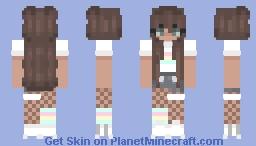 p for pink II p for pride // minecraft pride skin Minecraft Skin