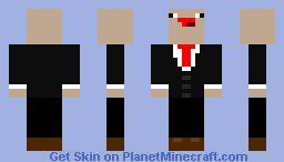 Business Noob Minecraft Skin
