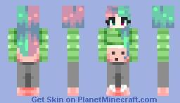 ᴋɪᴛᴛ-ᴄʜᴀɴ - wendy watermelon Minecraft Skin