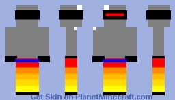 nuevo robot volador Minecraft Skin