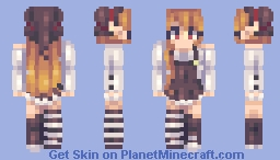 Hazel the basic witch! Minecraft Skin
