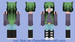 Moss Minecraft Skin