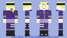 Inojin Yamanaka Minecraft Skin