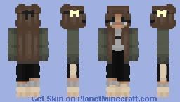 Yellow Bow Minecraft Skin