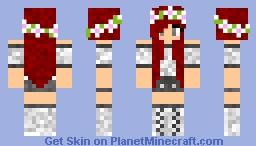 Flower Girl Minecraft