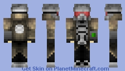 The Courier From Fallout New Vegas W/ Pip-Boy Minecraft Skin