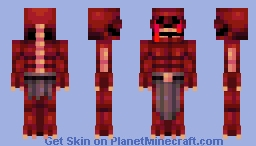 Blood Wraith Minecraft Skin